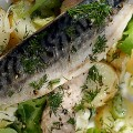 CLIVE BOZZARD-HILL PHOTOGRAPHY, LONDON-Mackerel_potato_salad-rocket_leaves-summer_salad